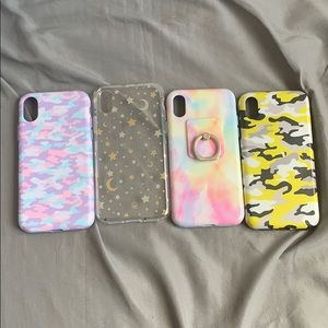 Velvet Caviar iPhone XS case(s) bundle